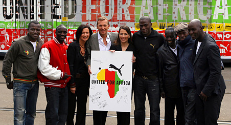 2005 - United For Africa Partnership