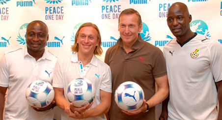 2007 - Peace One Day Partnership